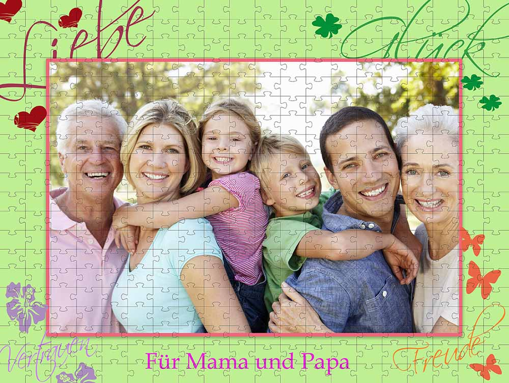 Fotopuzzle Family-Love