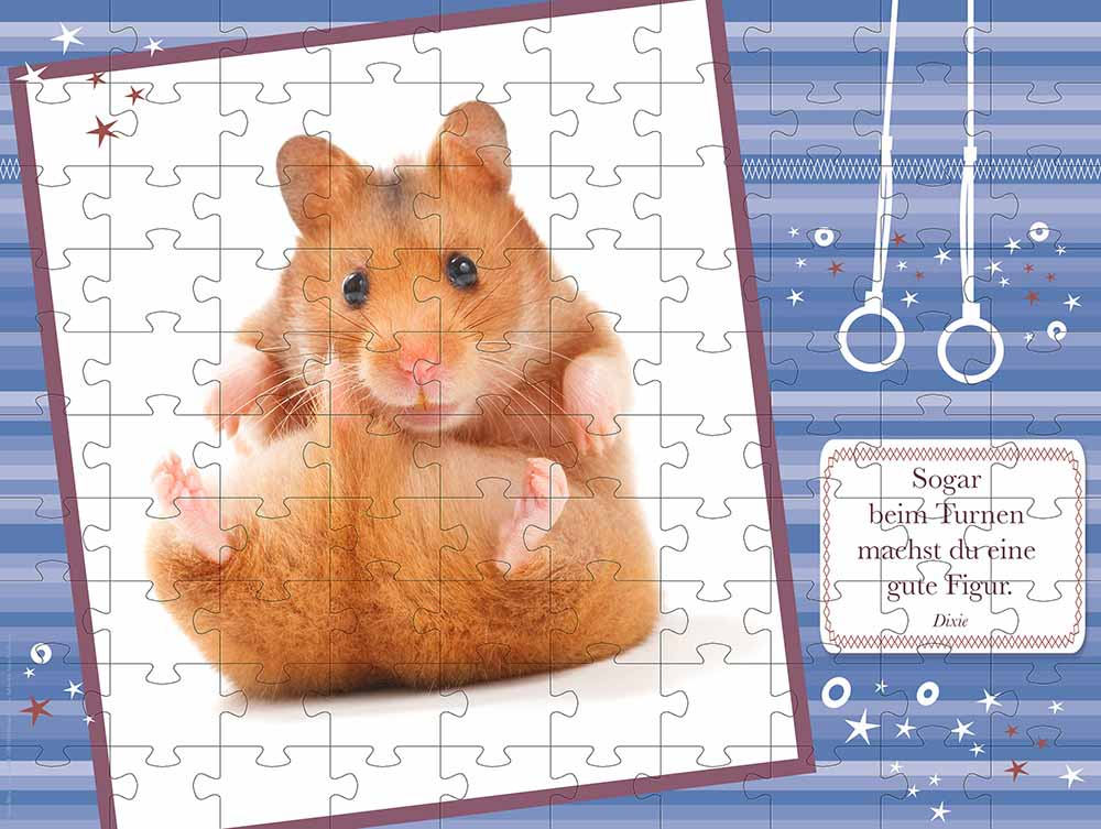 "Hamsterpuzzle ""Dixie"""